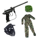 Paintball paket Stor